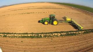 Sunset Corn Planting 2015 Raw Video