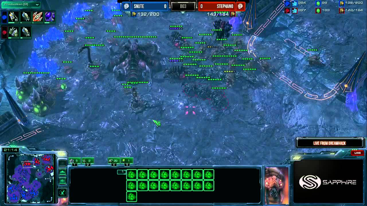 StarCraft 2 matchmaking ner