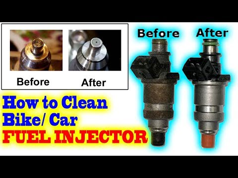Any Bike/ Car FUEL INJECTOR cleaning or servicing at home in 10 Minutes