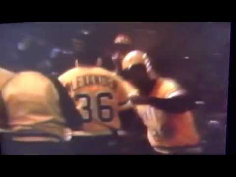 Willie Stargell Game 7 Home Run 1979 Pittsburgh Pirates We Are Family