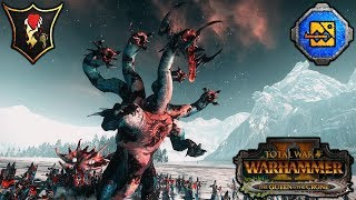 KHARIBDYSS - Dark Elves, Lizardmen, and Bretonnia - Total War Warhammer 2 Gameplay
