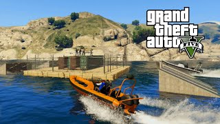 GTA V Online PC - SNIPERS VS BOATS 2