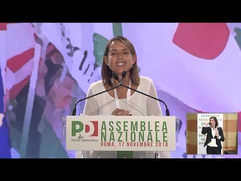 Assemblea PD: l'intervento di Katia Tarasconi