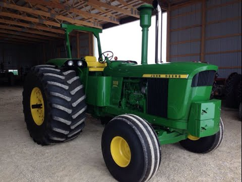 Restored 1972 John Deere 6030 Tractor Sold on Indiana Auction Today