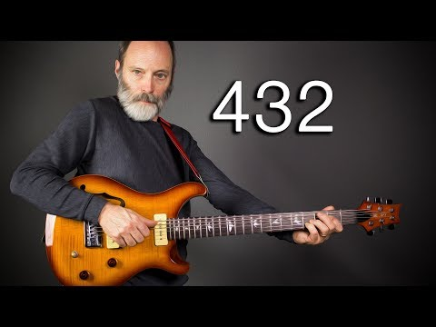 432Hz VS 440Hz - An Ambient Guitar Shootout!