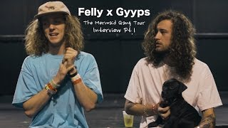 Felly & Gyyps Talk Linking Up In College, 2273, Tour Life + More In Pt.1 Of Our Exclusive Interview