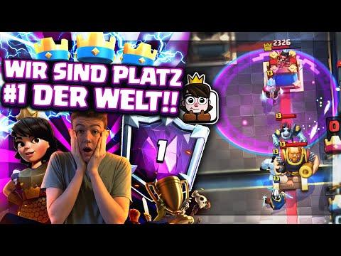 PLATZ 1 DER WELT! 🥇 DIESES DECK IST UNFASSBAR! Clash Royale Deutsch/german
