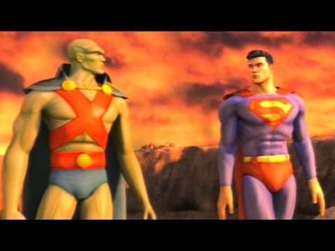 Justice League Heroes - Walkthrough Part 9 - Episode 5 Part 1: Mars Surface & Caves