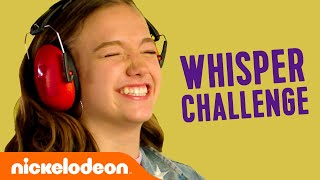 Whisper Challenge 🤫 ft. Are You Afraid of the Dark, All That & More | Nick