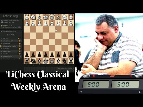 "Chess Berserk! Weekly Classical Arena featuring ""Radio Tryfon"""