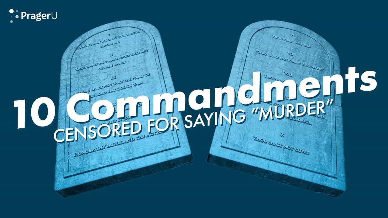 Google is Censoring the 10 Commandments