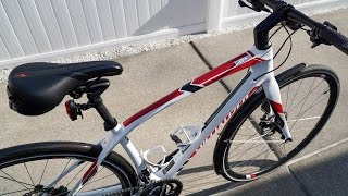 updated specialized sirrus elite carbon fitness hybrid city bike 2016
