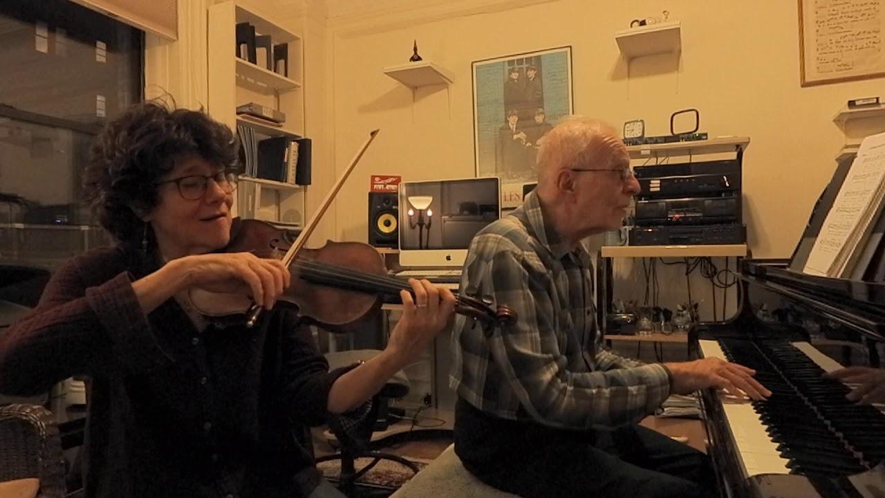 Mizmor L' Dovid (Hovu L' Hashem) Shlomo Carlebach Song piano violin duet