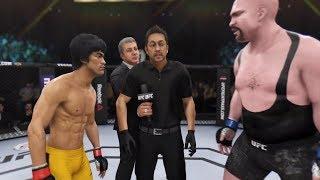 Bruce Lee vs. Big Show (EA Sports UFC 3) - CPU vs. CPU