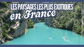 Top des plus beaux paysages exotiques en France (Topito)