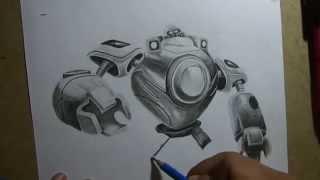 Pencil Drawing - Blitzcrank