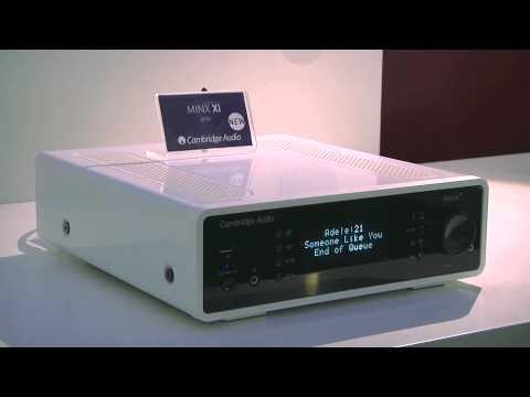 CES 2014: Cambridge Audio Minx Xi Network Music Player for Audio Streaming