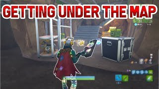 *NEW* How To Get Under The Map Anywhere in Fortnite (Fortnite Glitches)