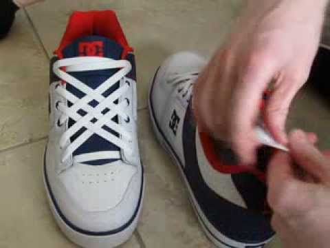 How To Tie Shoes With NO BOW Tie Under Insole