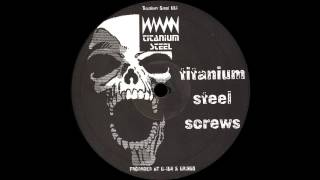 Titanium Steel Screws - Untitled B1 (Hard Techno 1993)
