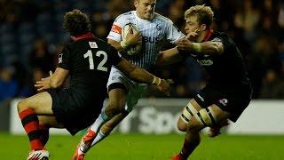 Edinburgh v Cardiff Blues  Highlights – GUINNESS PRO12 2014/15