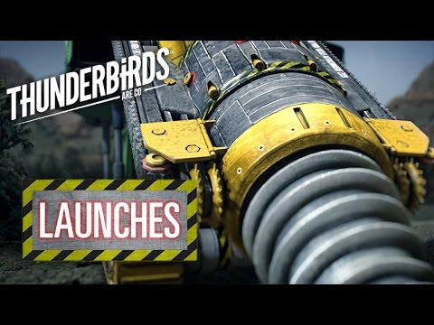 Virgil Provides Backup In The Mole | Thunderbirds Are Go Clip