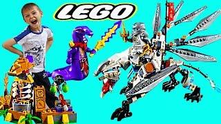 Лего Ниндзяго игра Мастера Спинжитсу / Ninjago Mastera je Spinjitzu