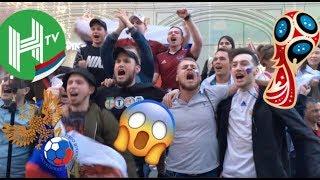 CRAZY RUSSIAN FANS CELEBRATIONS | World Cup Vlog 2 | Rodrigo Lara Adventure