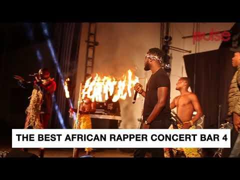 "The Best African Rapper Concert ""BAR 4""   Pulse Events"