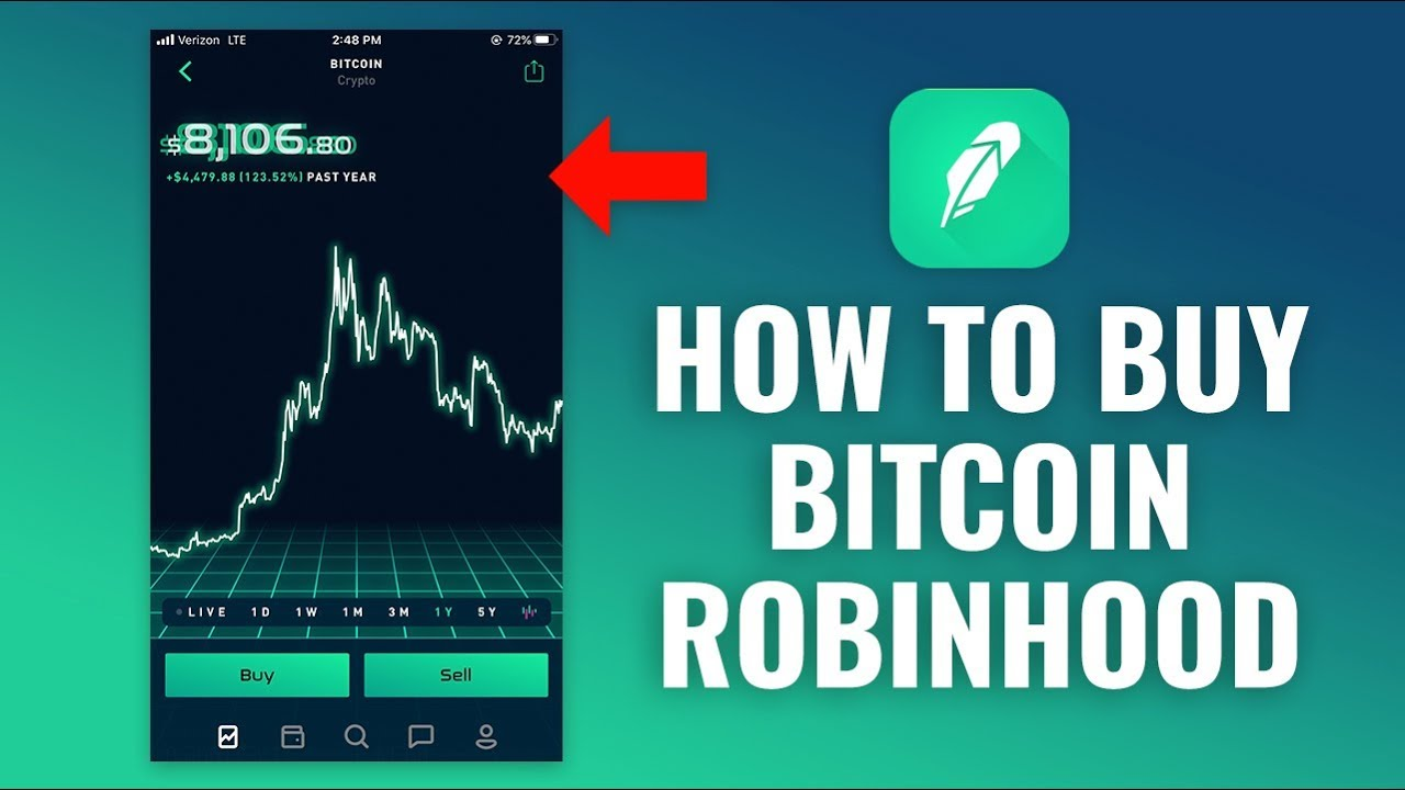 how to buy cryptocurrency using robinhood