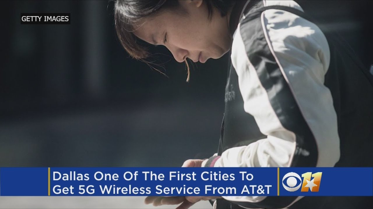 AT&T To Bring 5G To Dallas & Other Cities In 2018
