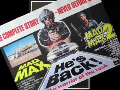 MAD MAX-Road Warrior Rare Original Movie Posters Mel Gibson