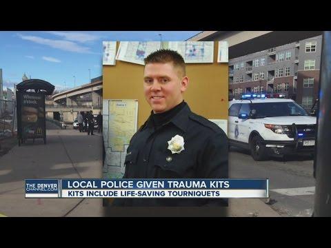 Local police given trauma kits