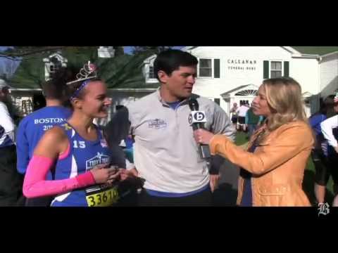 Tedy Bruschi on running the Marathon