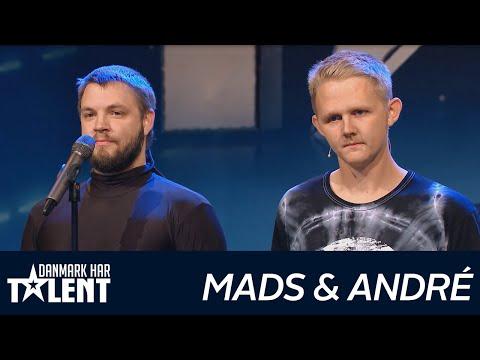 Mads og André  Danmark har talent  Audition 5