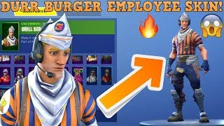 *NEW* GRILL SERGEANT SKIN GOT REMOVED BEACUSE OF INVISIBLE// fortnite på svenska