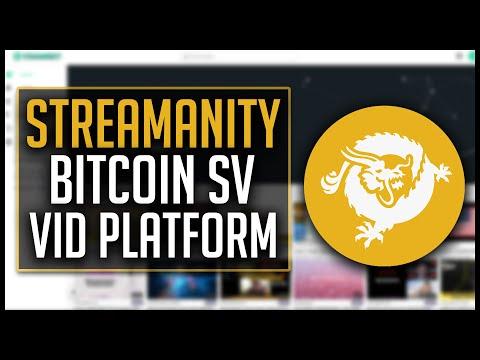 Streamanity Review - Bitcoin SV Video Platform