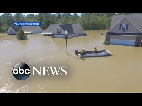 A Drone and Social Media Aided in One Man's Rescue from NC Flooding