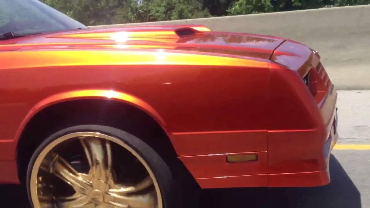 1987 Monte Carlo SS 24 Inch Rims Aero Coupe