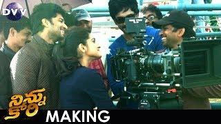 NINNU KORI Movie Making Journey in USA | #NinnuKori FUN ON SETS | Nani | Nivetha Thomas | Aadhi