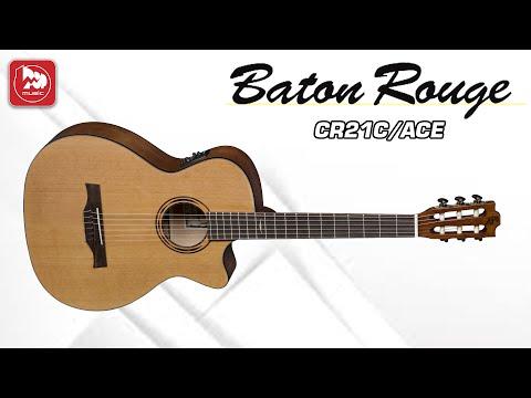 Электроакустическая гитара Baton Rouge CR21C/ACE (матовая отделка с открытыми порами)