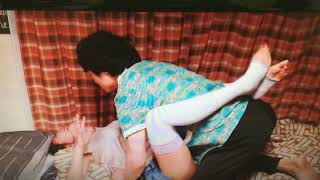 夏菜さんがニーハイ姿でセクシーな、、⁉  お楽しみ🤗