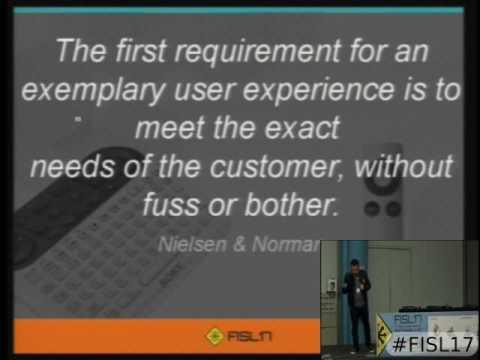 Fisl 17 - Modelos de integração de UX e Engenharia de Software