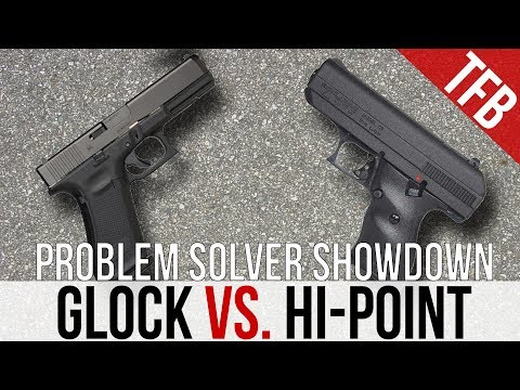 Glock vs. Hi-Point: The Problem Solver Showdown + Mud Test