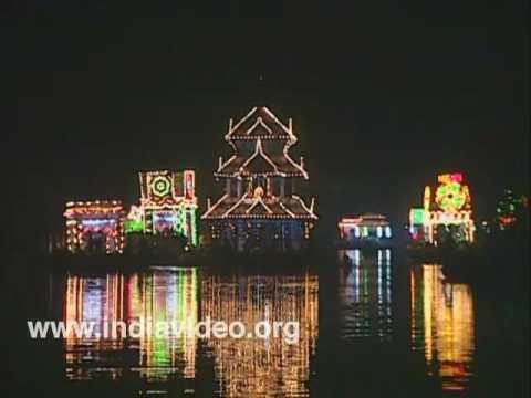 Riverside temple festival