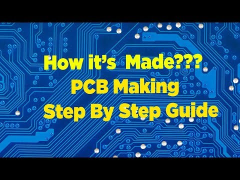 How its Made PCB - PCB Manufacturing Process Explained