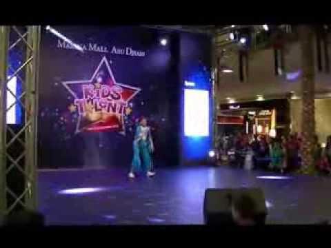 Benita Benoi's Dance at Marina Mall Abu Dhabi - KidsTalent™® Show 19-12-2013