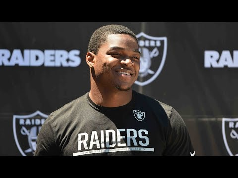 Raiders OTAs: Amari Cooper on learning from Calvin Johnson