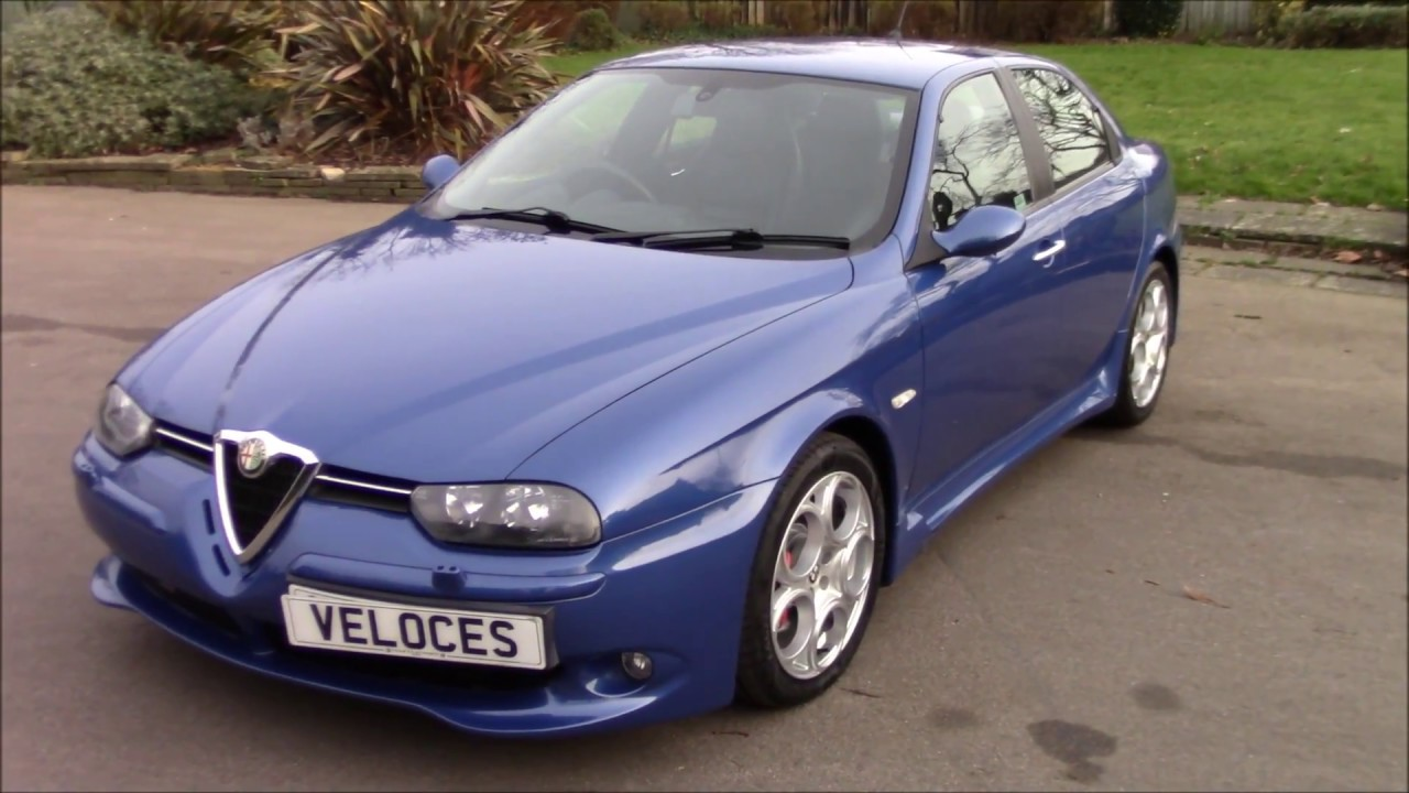 ultra rare blue alfa romeo 156 gta for sale youtube. Black Bedroom Furniture Sets. Home Design Ideas