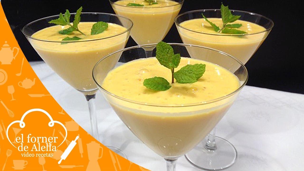 como hacer batido de mango con leche